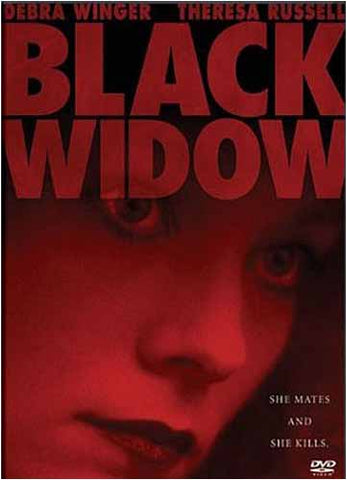 Black Widow (Red / Black cover) DVD Movie