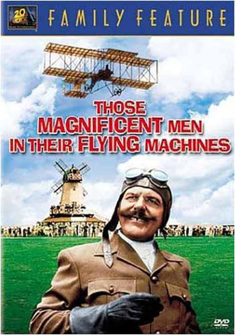Those Magnificent Men in Their Flying Machines (Bilingual) DVD Movie