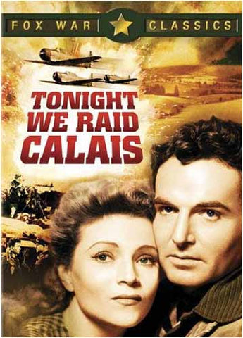 Tonight We Raid Calais DVD Movie