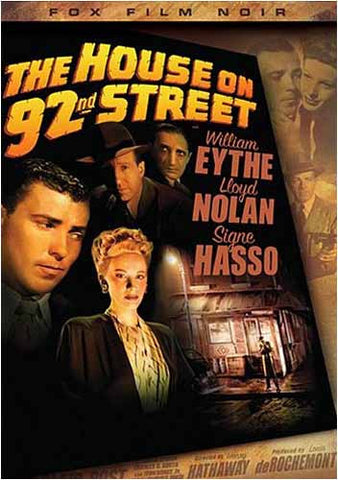 The House On 92nd Street DVD Movie