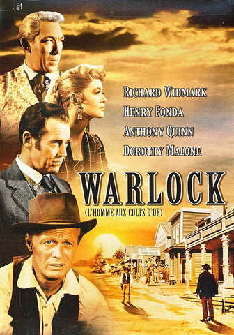 Warlock (L'Homme Aux Colts D'or) DVD Movie