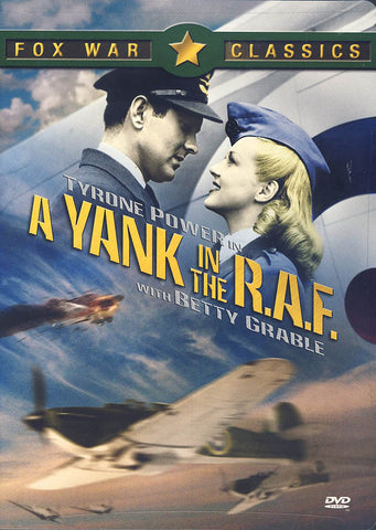 A Yank in the R.A.F. DVD Movie
