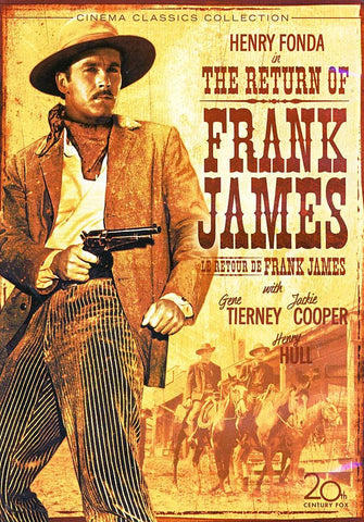 The Return of Frank James (Le Retour De Frank James) DVD Movie