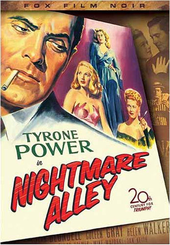 Nightmare Alley (Fox Film Noir) DVD Movie