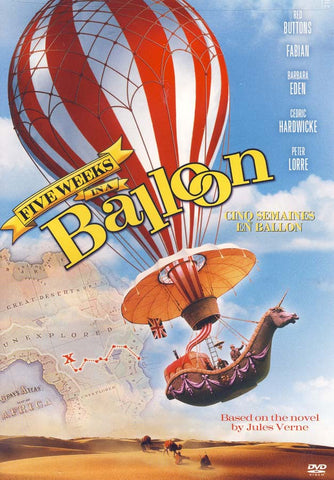Five Weeks In A Balloon (Cinq Semaines En Ballon)(bilingual) DVD Movie