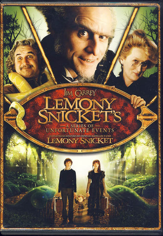 Lemony Snicket s A Series of Unfortunate Events (Bilingual) DVD Movie