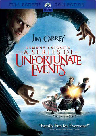 Lemony Snicket's A Series of Unfortunate Events - Fullscreen Collection DVD Movie