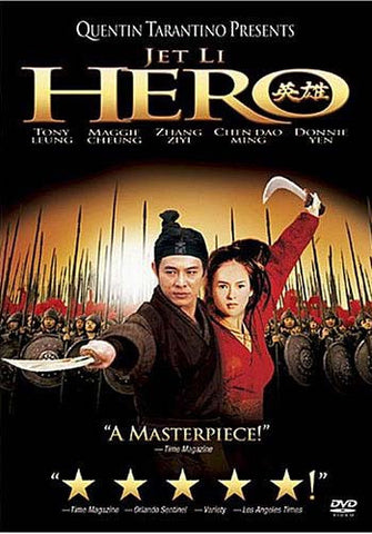 Hero (Jet Li) (Bilingual) DVD Movie
