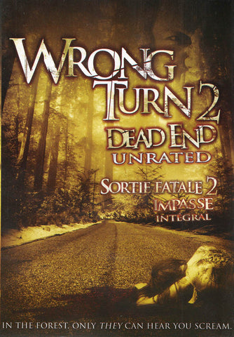Wrong Turn 2 - Dead End (Unrated) DVD Movie