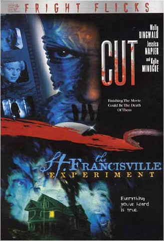 Cut / The St. Francisville Experiment - Fright Flicks Double Feature DVD Movie