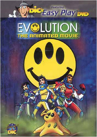 Evolution - The Animated Movie DVD Movie