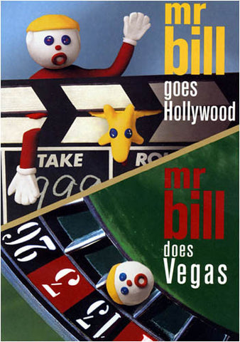 Mr. Bill Goes Hollywood / Mr. Bill Does Vegas DVD Movie