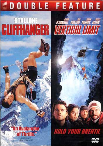 Cliffhanger/Vertical Limit - Double Feature DVD Movie
