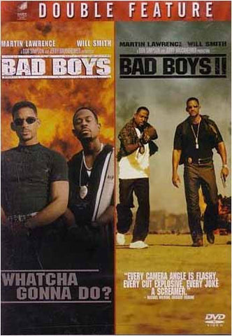 Bad Boys / Bad Boys II (Double Feature) DVD Movie