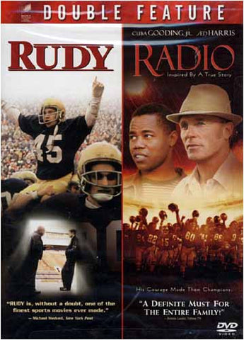 Rudy / Radio (Double Feature) DVD Movie