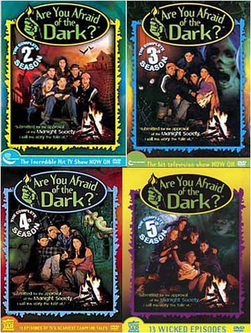 Are You Afraid of The Dark - Season 2/3/4/5 (4 Pack) DVD Movie