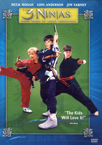 3 Ninjas - High Noon at Mega Mountain DVD Movie