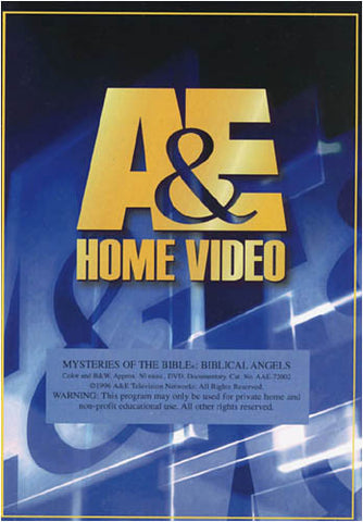 Mysteries Of The Bible: Biblical Angels DVD Movie