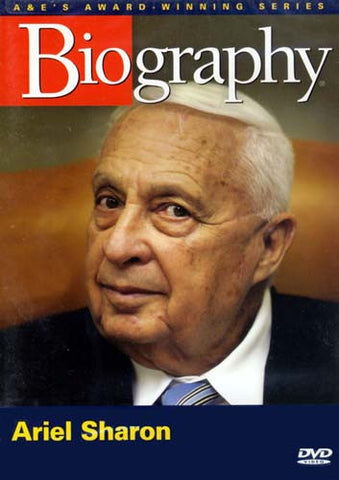 Ariel Sharon (Biography) DVD Movie