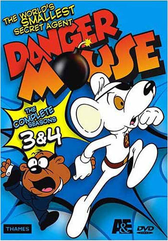 Danger Mouse - The Complete Seasons 3 And 4 (Boxset) DVD Movie