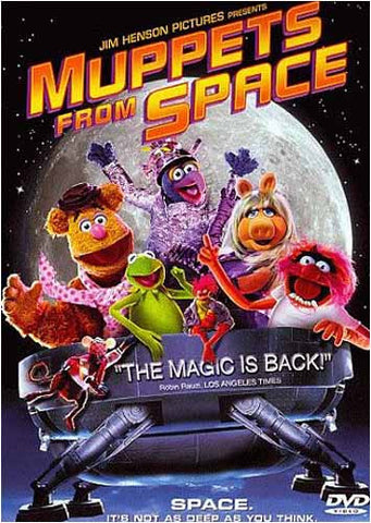 Muppets from Space DVD Movie