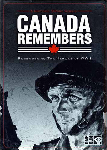 Canada Remembers - Remembering The Heroes Of World War II (Steelcase) DVD Movie