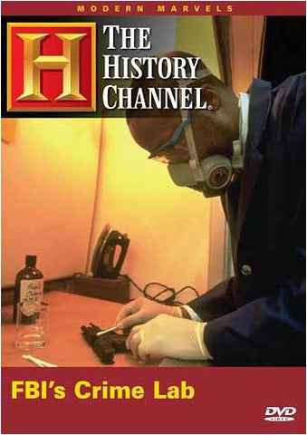 FBI's Crime Lab - Modern Marvels (The History Channel) DVD Movie