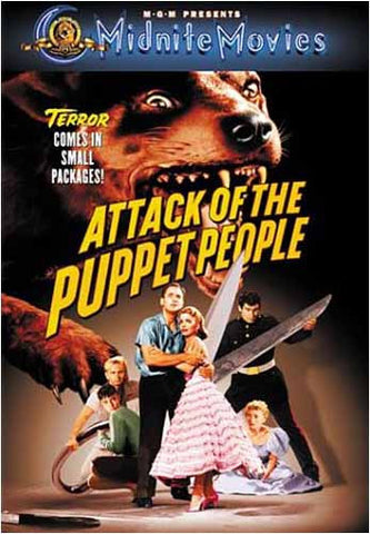 Attack of the Puppet People DVD Movie