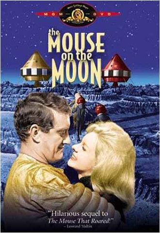 The Mouse on The Moon DVD Movie
