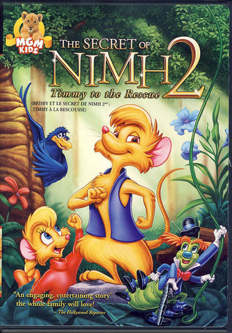 The Secret of NIMH 2 - Timmy to the Rescue DVD Movie