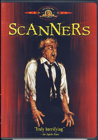 Scanners DVD Movie