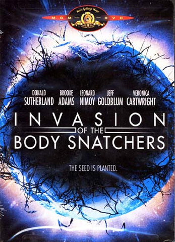 Invasion of the Body Snatchers (Donald Sutherland) DVD Movie