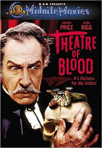 Theater of Blood (Midnite Movies) (MGM) DVD Movie