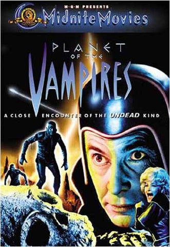 Planet of the Vampires DVD Movie