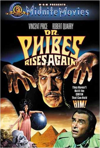 Dr. Phibes Rises Again! DVD Movie