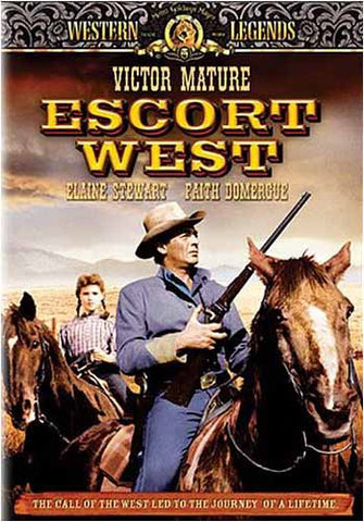 Escort West - Western Legends DVD Movie