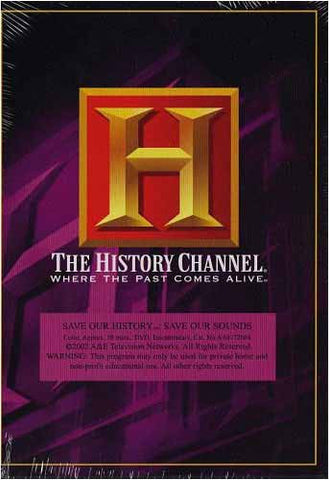 Save Our History-Save Our Sounds (The History Channel) DVD Movie