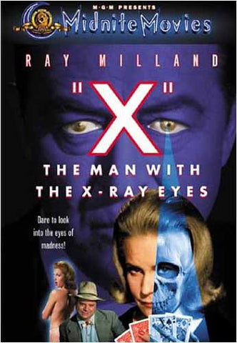 X - The Man with the X-Ray Eyes DVD Movie