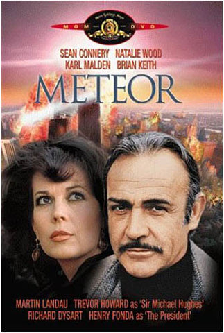 Meteor (Sean Connery) (MGM) DVD Movie