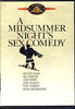 A Midsummer Night's Sex Comedy DVD Movie