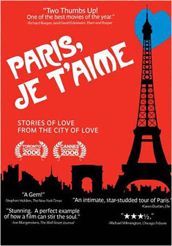 Paris, Je T'Aime DVD Movie