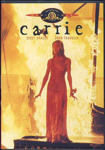 Carrie (Sissy Spacek) (Yellow Cover)(MGM) DVD Movie