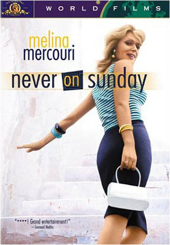 Never on Sunday (MGM) DVD Movie