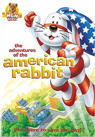 The Adventures Of The American Rabbit DVD Movie