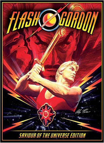 Flash Gordon - Saviour of The Universe Edition (Boxcase Ltd. Edn.) DVD Movie