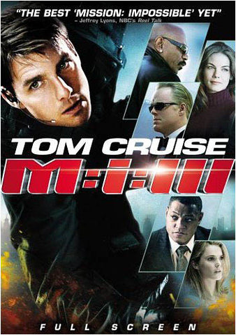 Mission: Impossible III (3) (Full Screen) DVD Movie