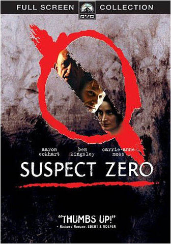 Suspect Zero - Full Screen Collection DVD Movie