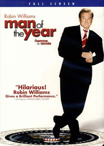Man of the Year (Full Screen Edition) DVD Movie