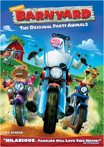Barnyard - The Original Party Animals (Fullscreen) DVD Movie