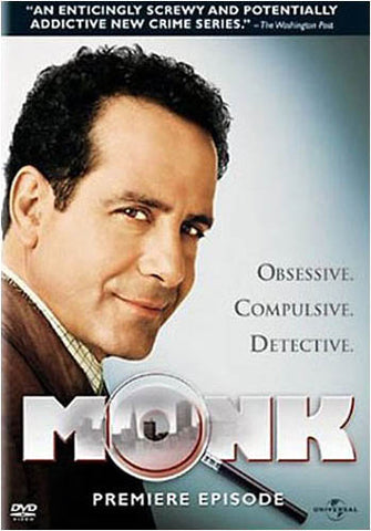 Monk - The Premiere Episode DVD Movie